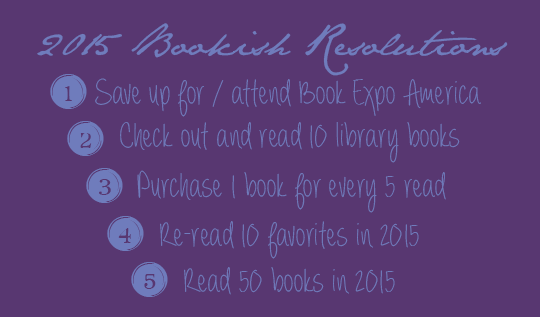 2015 bookish resolutions